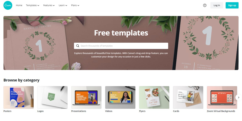 「Canva」無料でセンス良く配置できる画像編集サイト