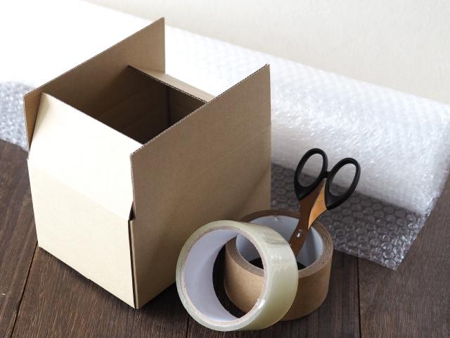 郵送時にあわてないよう梱包資材を事前準備しよう